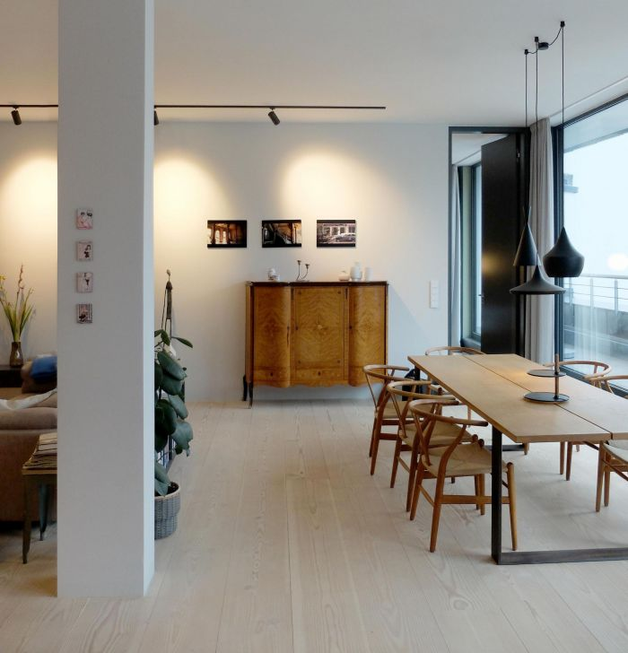 ROOFTOP APARTMENT, Berlin  | dining area