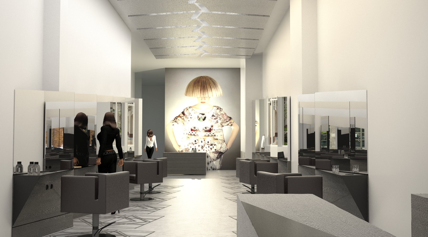 SHIFT FRISEURE | Berlin, Mitte - IOX Architekten